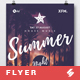 Summer Night - Beach Party Flyer / Poster Template A3 - GraphicRiver Item for Sale