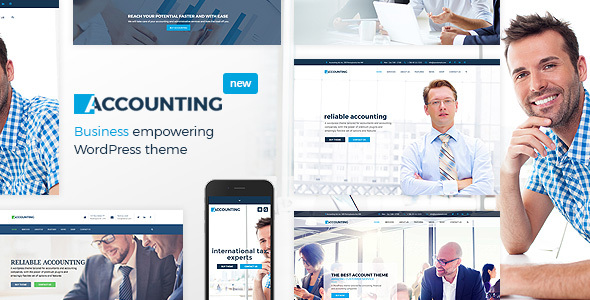 Accounting - Business, Consulting, Finance and Accounting WordPress theme - Business Corporate