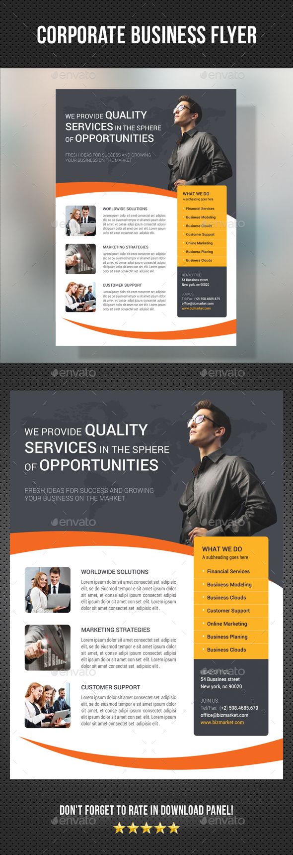 Corporate Business Flyer 19 - Corporate Flyers