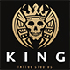 King Skull Tattoo - GraphicRiver Item for Sale