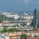 Panorama of the City Center  of Zagreb, Croatia, with Modern and Historic Buildings, Museums