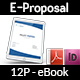 Company Proposal E-Book Template - 12 Pages - GraphicRiver Item for Sale