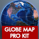 Globe Map Pro Kit - VideoHive Item for Sale