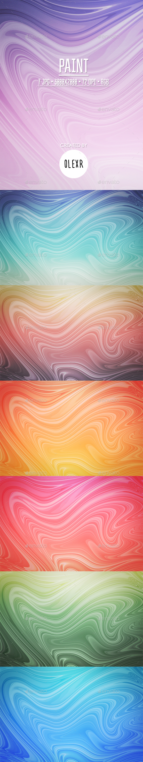 Paint Backgrounds - Abstract Backgrounds