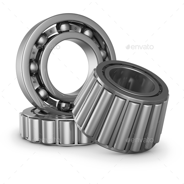 The various bearings - 3D Renders Graphics