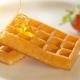 Baked Golden Waffle and Sweet Honey - VideoHive Item for Sale