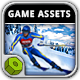 Ski Rush Game Assets - GraphicRiver Item for Sale