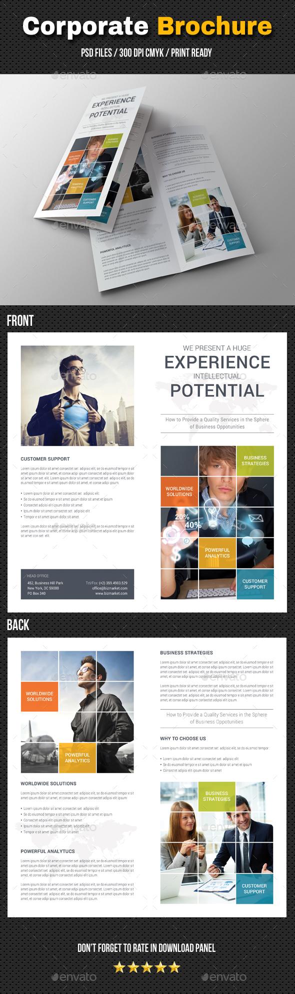 Corporate Bifold Brochure 06 - Corporate Brochures