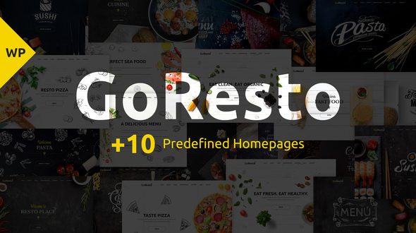 GoResto – Multipurpose Restaurant & Table Booking WordPress Theme - Restaurants & Cafes Entertainment