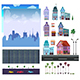 City Game Level Kit - GraphicRiver Item for Sale