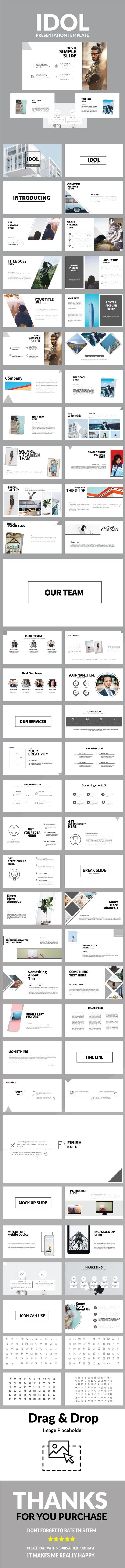 Idol Multipurpose Powerpoint - PowerPoint Templates Presentation Templates