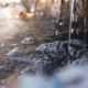 Running Water in a Stream of Melted Snow - VideoHive Item for Sale