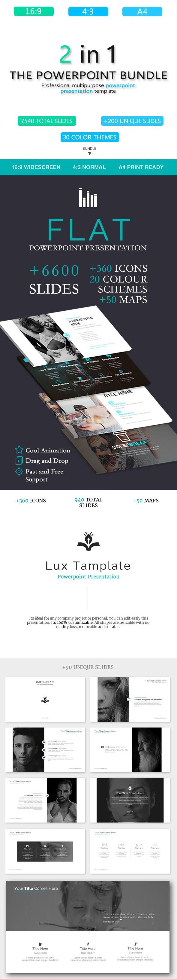 Bundle - Creative Templates - Business PowerPoint Templates