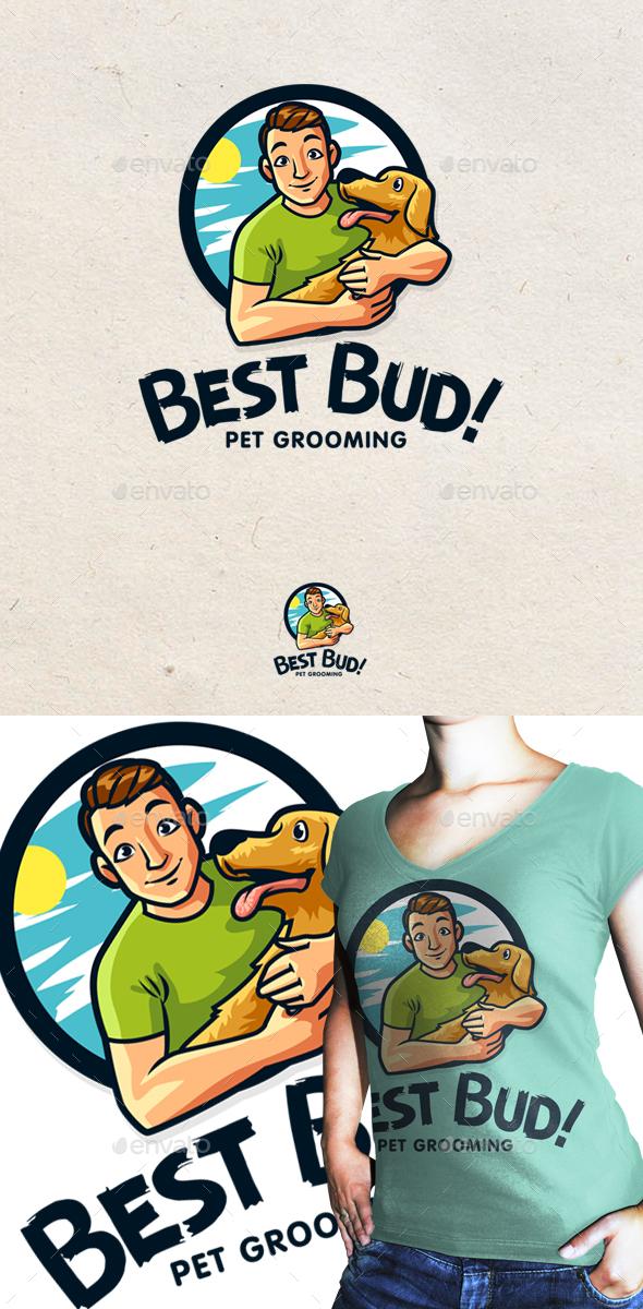 Best Bud - Pet Grooming - Animals Logo Templates
