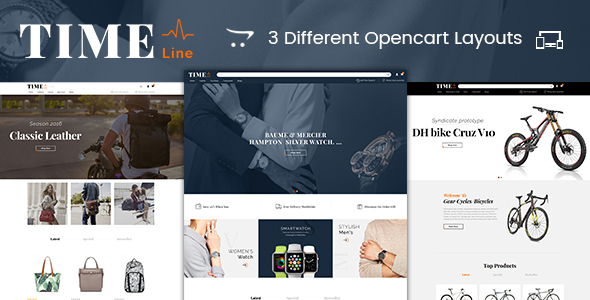 Time Line – Multipurpose OpenCart Theme