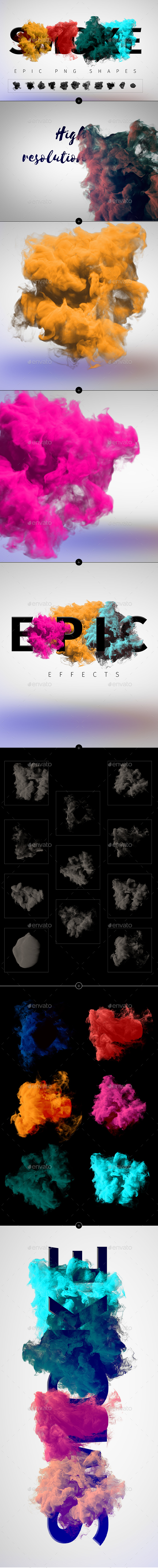Smoke PNG Shapes - Miscellaneous Graphics