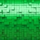 Green Extruded Cubes - VideoHive Item for Sale
