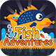Fish Adventures+ Admob + Online Leaderboard + Multiple Characters