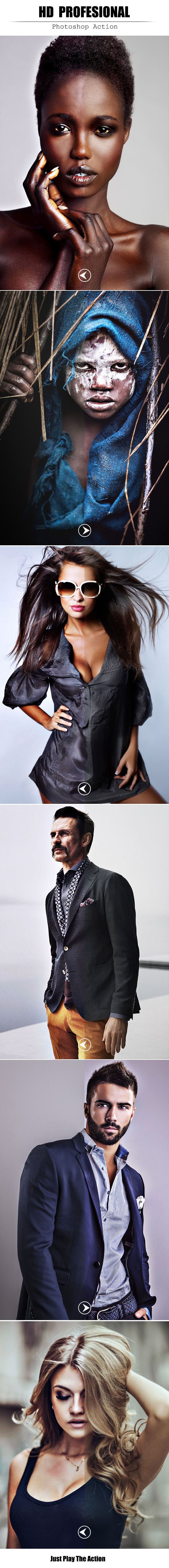 HD Profesional - Photo Effects Actions