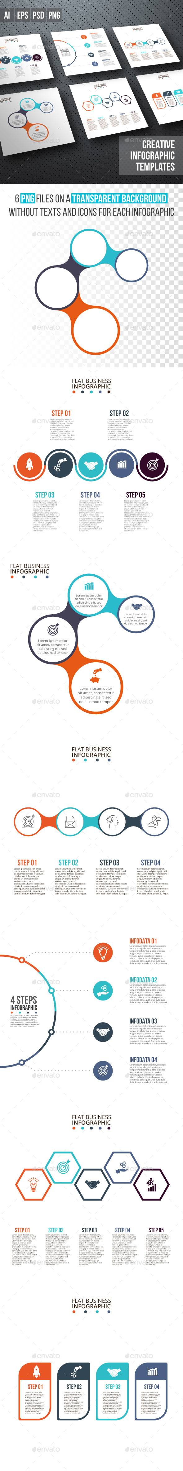 Business infographic diagrams v.13 - Infographics