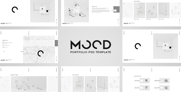 MOOD – Portfolio PSD Template
