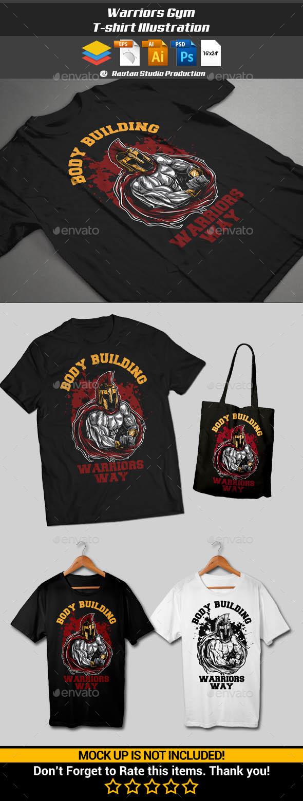 Warriors Gym - Sports & Teams T-Shirts