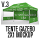 Tente Gazebo 2x1 Mockup Vol 03 - GraphicRiver Item for Sale