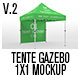Tente Gazebo 1x1 Mockup Vol 02 - GraphicRiver Item for Sale