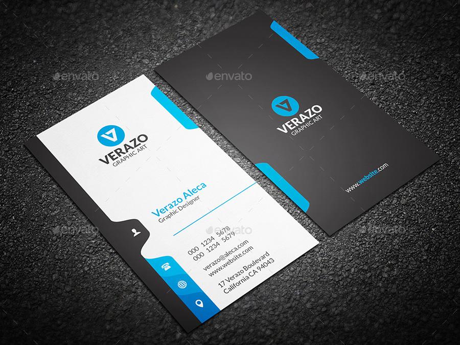 vertical business card designs