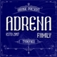 Adrena family - GraphicRiver Item for Sale