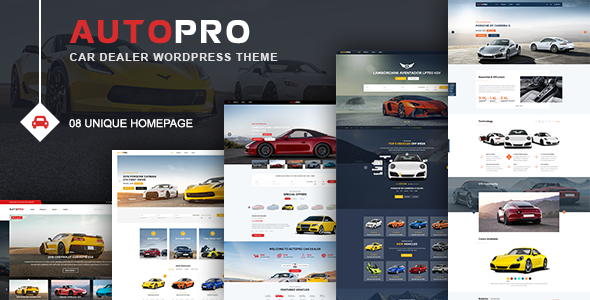 AutoPro – Auto Dealer WordPress Theme (Small business)