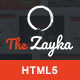 The Zayka - Multipurpose Restaurant, Food & Cafe HTML5 Template - ThemeForest Item for Sale