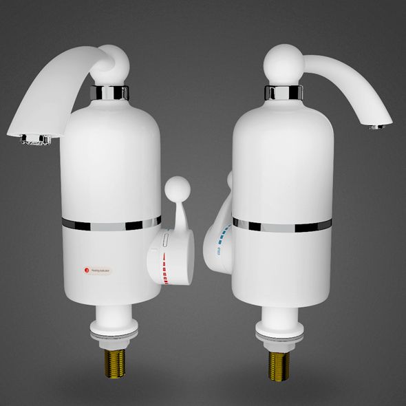 Water Heater. Delimano. - 3DOcean Item for Sale