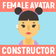 Female Avatar Constructor - GraphicRiver Item for Sale