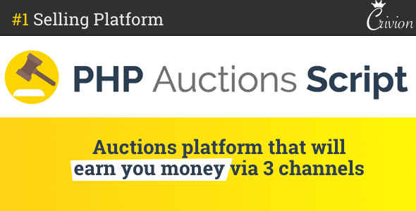 PHP Auctions Script - CodeCanyon Item for Sale
