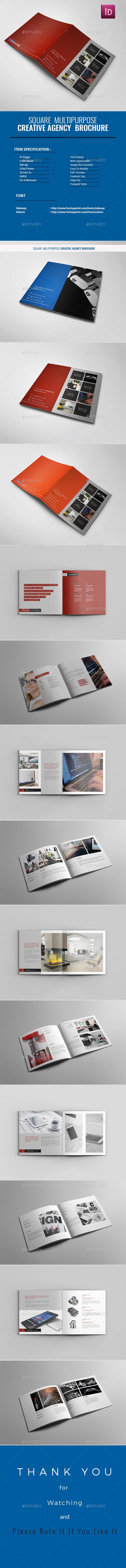 Creative Agency Brochure - Brochures Print Templates