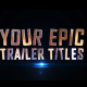 Epic Trailer Titles 01 - VideoHive Item for Sale