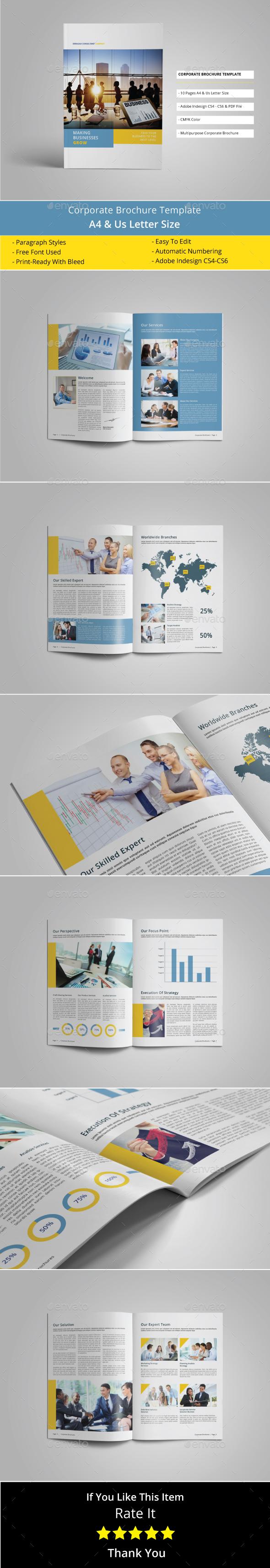 Multipurpose Corporate Brohure Template - Corporate Brochures