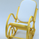 HomCom rocking chair