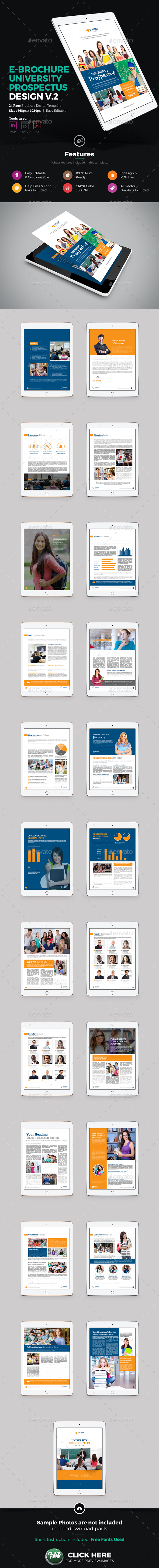 E-Brochure University Prospectus Design v2 - ePublishing