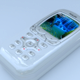 philips mobile white