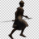 African Traditional Warrior