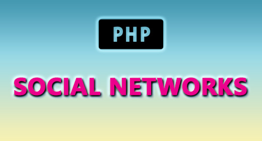 PHP (SOCIAL NETWORKS)