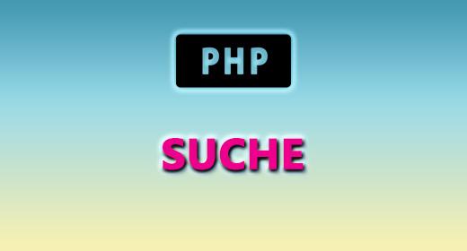 PHP (SUCHE)