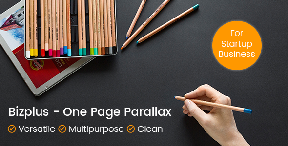 Bizplus – Joomla! One Page Parallax