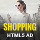 Shopping - HTML5 Animated Banner 01