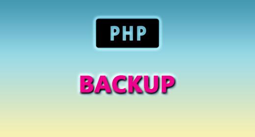 PHP (BACKUP)