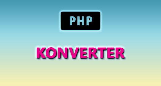 PHP (KONVERTER)