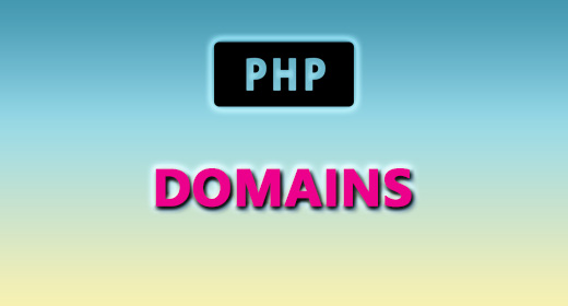 PHP (DOMAINS)
