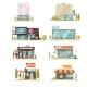 Supermarket Building Set - GraphicRiver Item for Sale